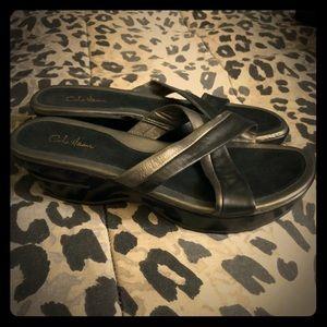 NWOB Cole Haan sandals w Nike air comfort